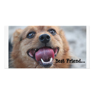 Best Friend Personalized Photo Card