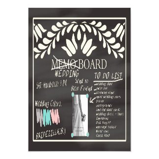 Best Friend Please be Bridesmaid Magnetic Invitations
