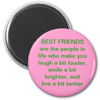 Best Friend Quote Magnet