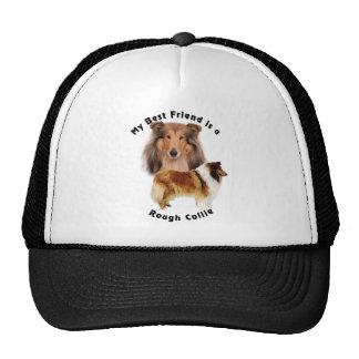 Best Friend Rough Collie Mesh Hats