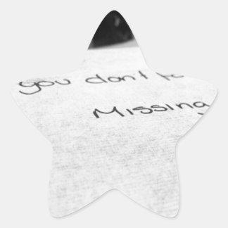 Best Friend Star Sticker