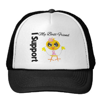 Best Friend Support Breast Cancer Cap