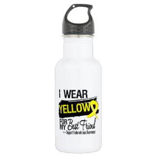 Best Friend Yellow Ribbon Endometriosis 532 Ml Water Bottle