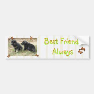 Best Friends Always Bumper Sticker