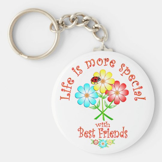 Best Friends are Special Key Ring