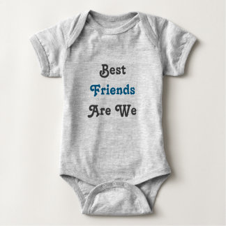Best Friends Are We! Twin set (Part 1 of 2) Baby Bodysuit
