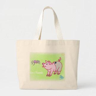 Best Friends Bag Jumbo Tote Bag