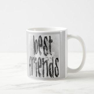 Best Friends Basic White Mug