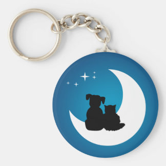 Best Friends - Cat And Dog keychain