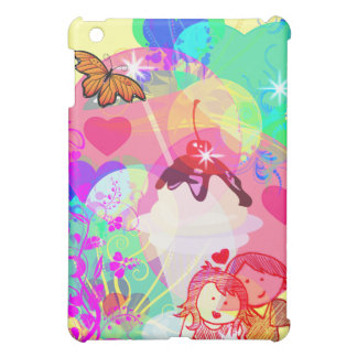 BEST FRIENDS-CHERRY SUNDAE-IPAD COVER COVER FOR THE iPad MINI