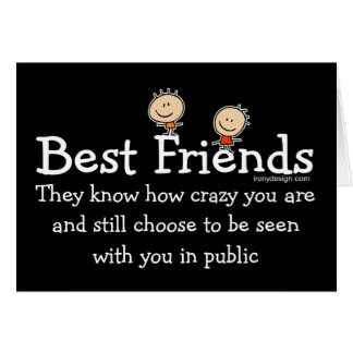 Best Friends Design Card