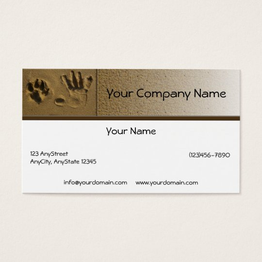 Best Friends Dog Paw and Hand Print Business