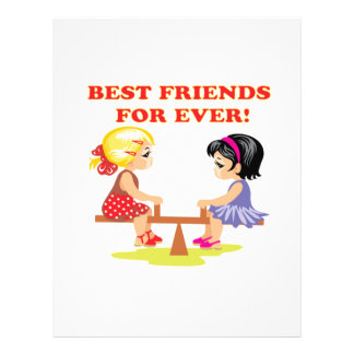 Best Friends For Ever Custom Flyer
