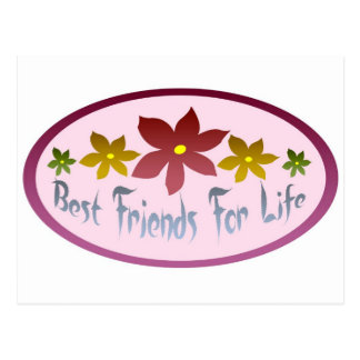 Best Friends For Life Post Card