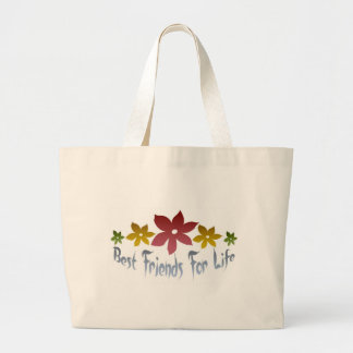 Best Friends For Life Tote Bags