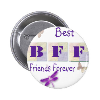 Best Friends Forever 6 Cm Round Badge