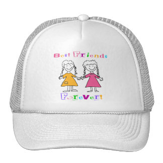Best Friends Forever BFF Gifts Trucker Hats