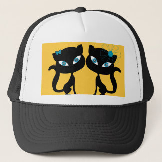 Best Friends Forever (BFF), I love Cats! Trucker Hat