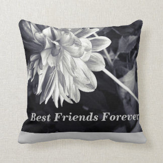 Best Friends Forever (bff) Throw Pillow