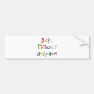 Best Friends Forever Bumper Sticker