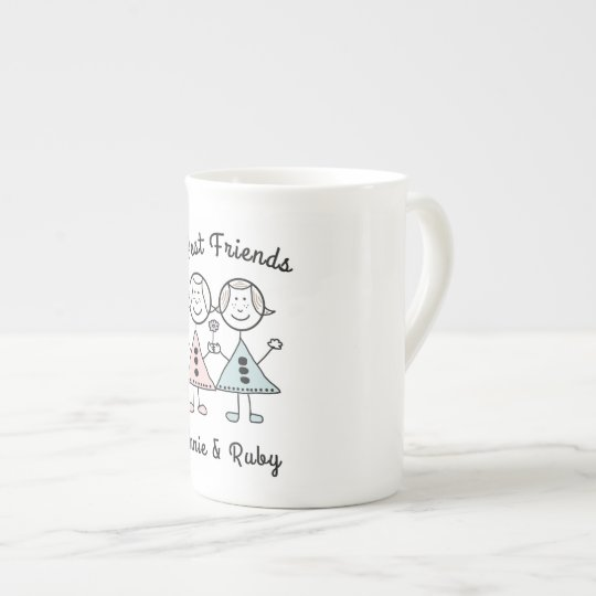 """Best Friends Forever"" Coffee/ Tea Cup"