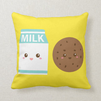Best Friends Forever, Cute Milk and Cookies Cushion