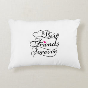 ***BEST FRIENDS FOREVER*** FRIEND'S DECORATIVE CUSHION