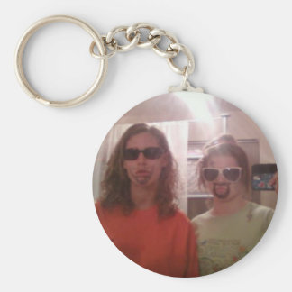 best friends forever key chain