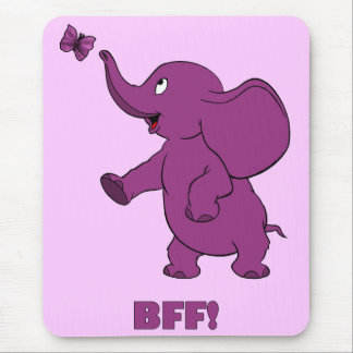 Best Friends Forever Mouse Pad