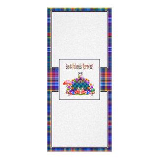 Best Friends Forever Pixel Art Rack Card Design