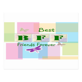 Best Friends Forever Postcard