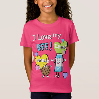 Best Friends Forever Shirt Girls Bff Tee