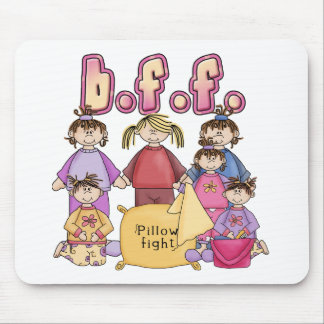 Best Friends Forever - Slumber Party Mouse Pad