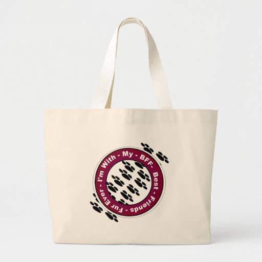 Best Friends Fur Ever Tote Bags