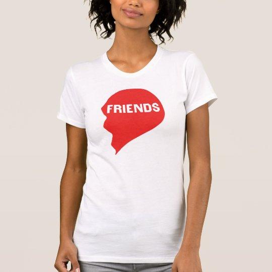 Best Friends Heart 2/2 T-Shirt