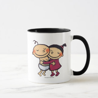 Best Friends Hugging Mug