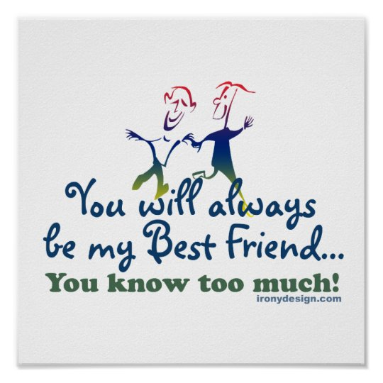 Best Friends Knows Humour Poster