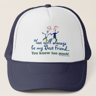 Best Friends Knows Trucker Hat