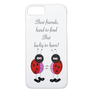 Best friends ladybugs iPhone 8/7 case