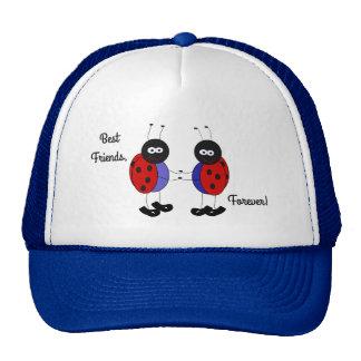Best friends little ladybugs cap