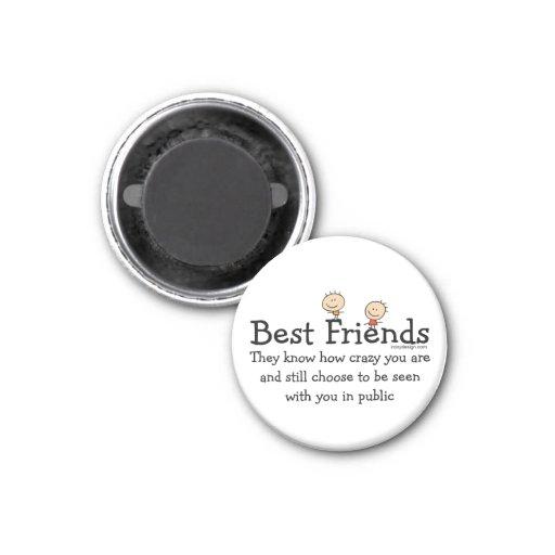 Best Friends Fridge Magnets