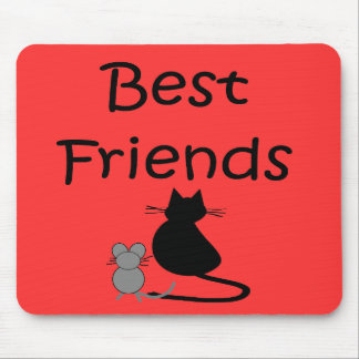 Best Friends-- Mouse and Cat Mouse Pads