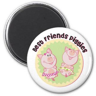 Best_Friends_Piggies Magnets
