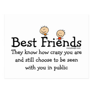 Best Friends Postcard