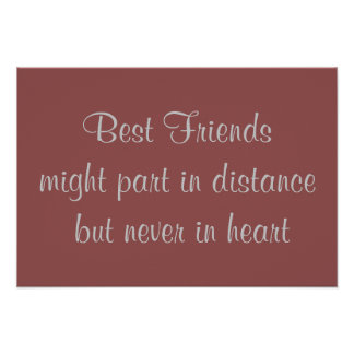 Best Friends, poster quote