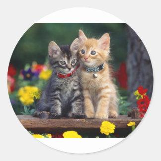Best Friends Round Sticker