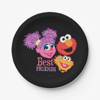 Best Friends Sesame Street Paper Plate