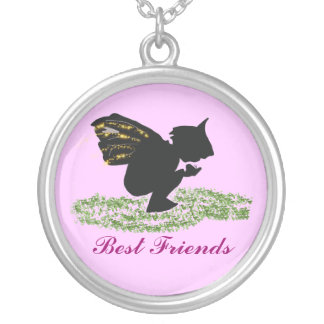 , Best Friends Silver Plated Necklace
