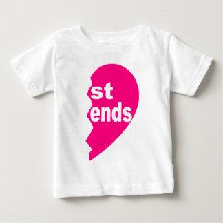 Best Friends Tee shirt, st ends