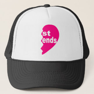 Best Friends Tee Shirt Trucker Hat